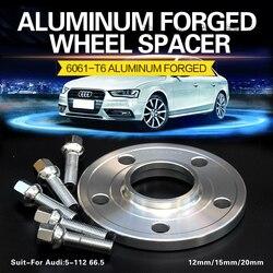 2/4 шт. 12 мм 5x112 66,5 колеса Прокладка костюм для автомобиля Audi A4/A5/A6/A7/A8/S3/S4/S5/S6/S7/Q3/Q5/ адаптер для колес RS4/RS5/RS6