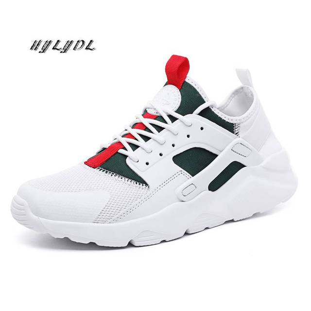 Shoes Men Casual Breathable Running Shoes Women Unisex Lace Up Sneakers Plus Size 36-47 Couple Sports Shoes Zapatillas Hombre