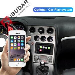 Image 3 - Isudar 1 Din Android 9 Automotivo Radio For Alfa/Romeo/Spider/Brera/159 Sportwagon Car Multimedia player GPS DVD Octa Core DSP