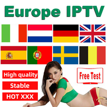 цена на Europe IPTV Subscription IPTV code Nederlands Italy Spain belgium UK Poland Sweden Germany Greek Portugal for Android TV BOX M3U