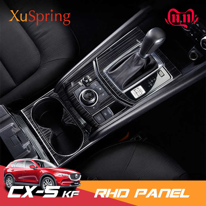 KIMISS ABS Car Styling Gear Shift Panel Decoration Cover Gear Shift Knob Frame Panel Decoration Trim for Zs Suv 2017-2018