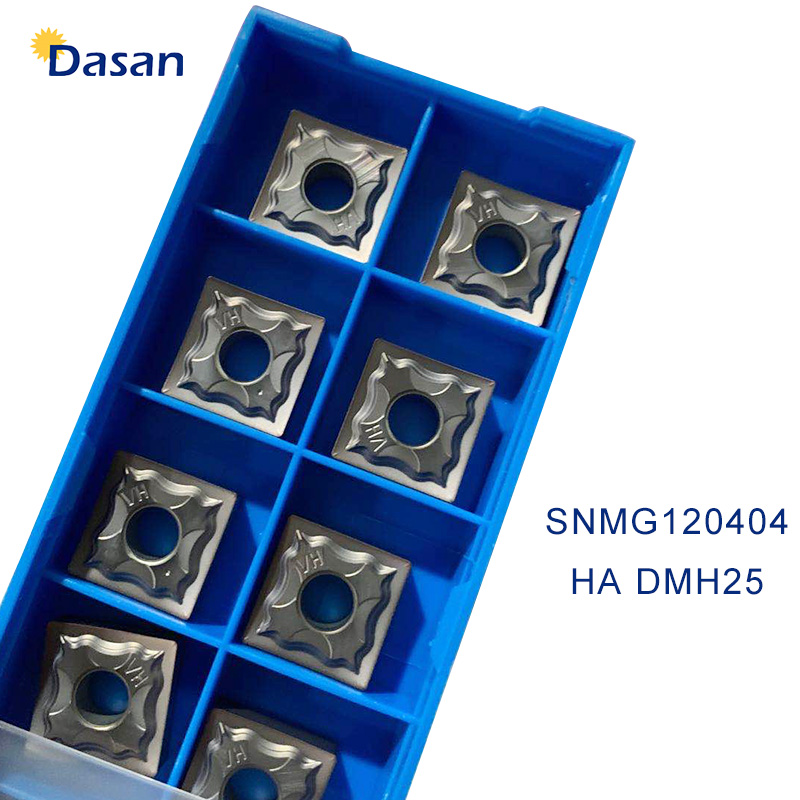 10pcs SNMG120404 HA Carbide Inserts SNMG 120408 HG High Quality Grooving Blade Cutter Lathel Turning Tool For Stainless Steel