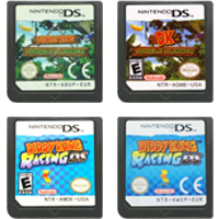 DS Video Game Cartridge Console Card Diddy Kong Series For Nintendo DS 1