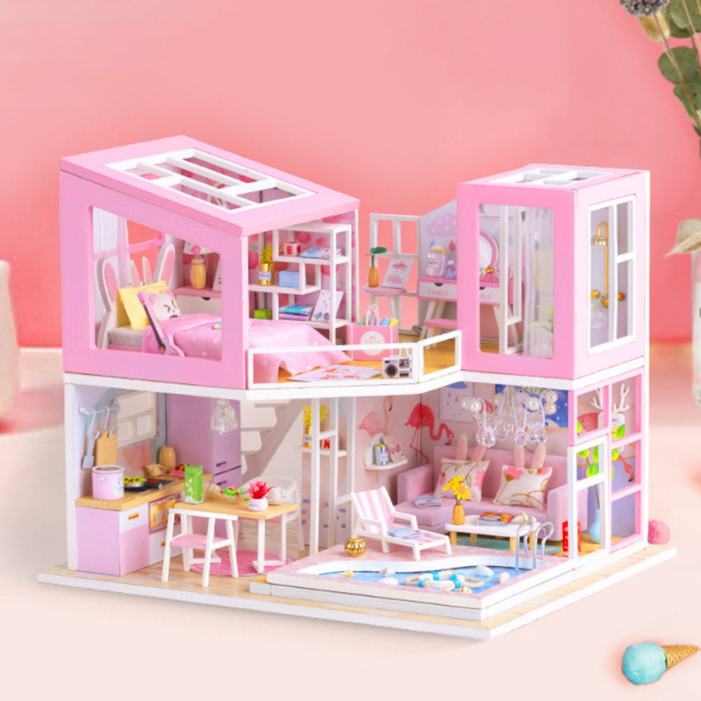 First Sight DIY Miniature 3D Dollhouse Kit