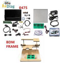 Nouvelle version fgtech V54 0475 avec cadre BDM LED BDM 100 outil de réglage FGTECH Galletto 4 maître v54 BDM OBD fonction de soutien BDM