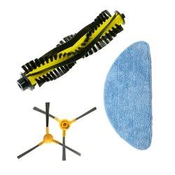 Gorąca szczotka główna + ścierka do mopa + 2X szczotka boczna do akcesoriów do zamiatania Neatsvor X500
