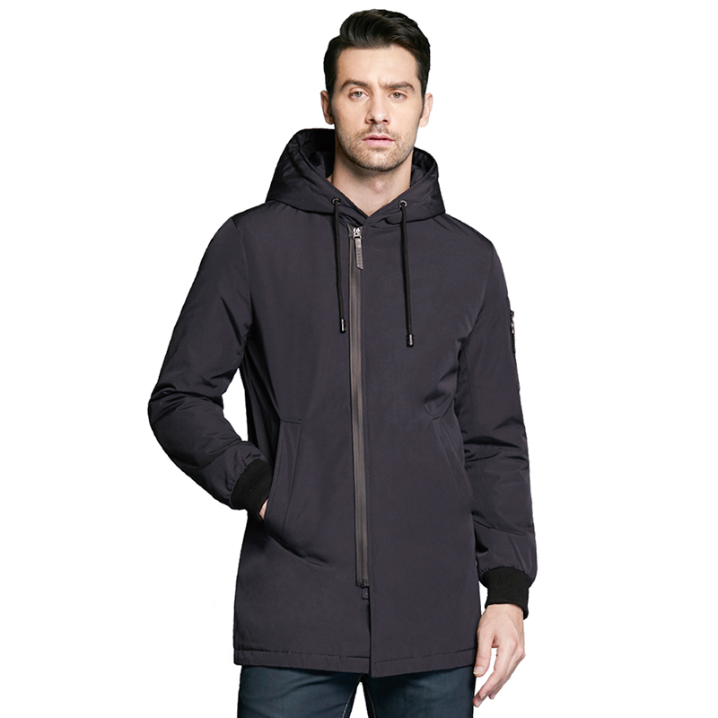 Фото - ICEbear 2019 new autumnal men's coat clothing fashion man jacket diagonal placket hooded design high quality clothing MWC18031D icebear 2019 new autumn men s cotton classic quilted design coats hat detachable fashion man jacket mwc18032d