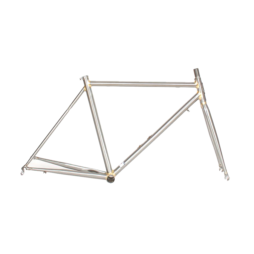 4130 Chrome molybdenum <font><b>steel</b></font> Fixie Bike <font><b>frame</b></font> Copper plated <font><b>frame</b></font> customize <font><b>frame</b></font> road bike <font><b>frame</b></font> 700C wheel 50 cm 52 cm image