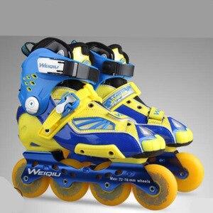Image 5 - Slide Raden Professionele Inline Skates voor Volwassen Sliding Schaatsen Patines met Duurzaam PU Wielen Voor SEBA Hoge Licht HL HV