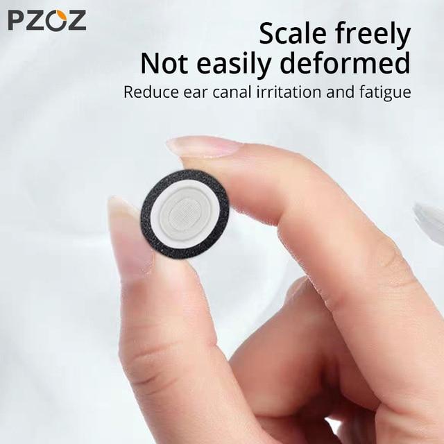 PZOZ for airpods pro ear tips Memory Foam Ear Tips Buds Bluetooth Wireless Case Earphone Tips Soundproof Earplug airpods pro 1:1 5