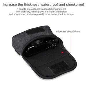 Image 3 - حقيبة للحمل لكاميرا الفيديو المصغرة طراز RX100 السابع من كانون G7X Mark III ملحقات كاميرا SLR بدون إطار