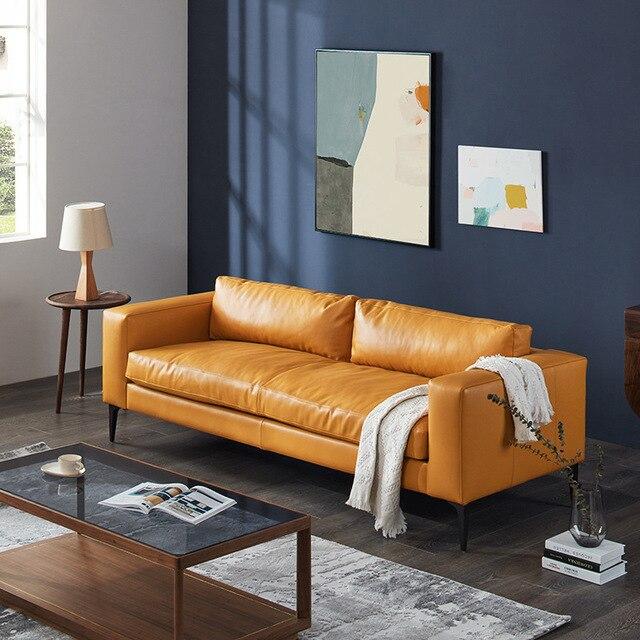 Foshan Italian Minimalist Modern Sofa  5