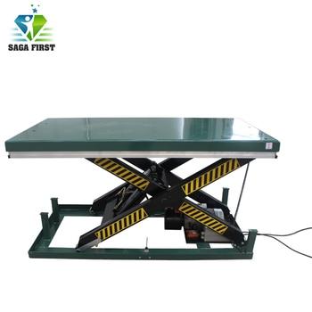SAGAFIRST Portable Stationary Single Scissor Lift Table Price list