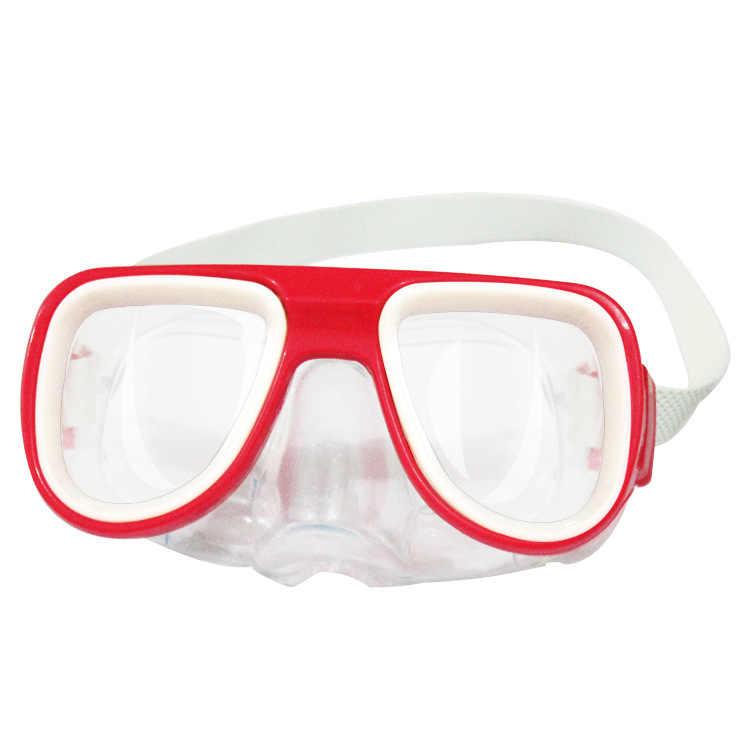 Yüksek çözünürlüklü yüzme dalış maskesi çocuk yüzücü gözlükleri ayarlanabilir kemer toka bebek yüzme gözlükleri dalış maskesi çocuklar için