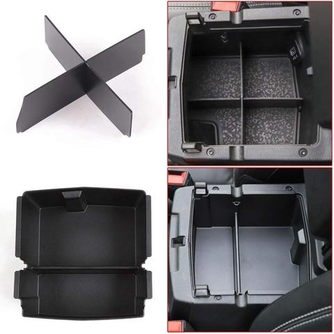 center console apoio de braco armazenamento