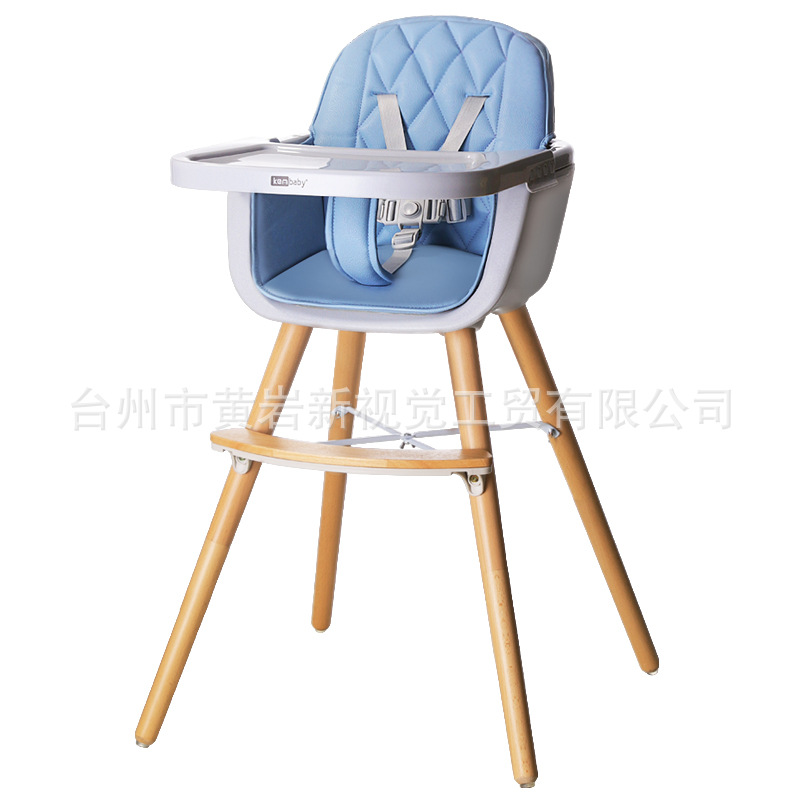 Baby Dining Chair Solid Wood Dining Chair To Eat Collapsible Portable Baby Dining Table And Chairs Multi-functional Children's D