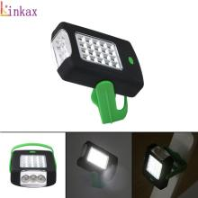 Super Bright 23 LED Magnetic Work Light Flashlight pocket la