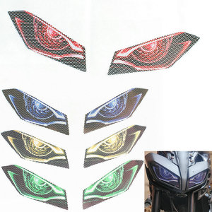 FOR YAMAHA MT-09 MT09 MT 09 2016 2017 2018 2019 Motorcycle Front Fairing Headlight Guard Sticker Head light protection Sticker