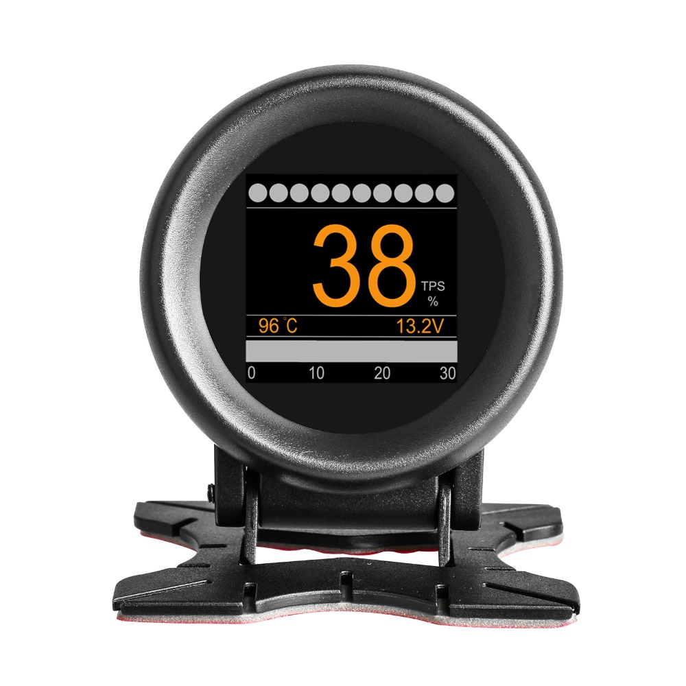 Voiture Affichage tête haute Hud m7 Affichage tete haute pour voiture avertissement de vitesse GPS navigation voiture velocimetro automovil alarme de vitesse