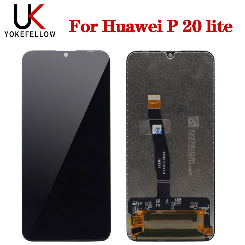 Display For Huawei Honor 20 Lite LCD Display Touch Screen Digitizer With Frame For Honor 20 Lite 10i 20i Tested LCD Screen