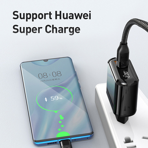 Image 5 - Mcdodo Digital Display QC3.0 USB Charger 18W PD 3.0 Fast Charge for iPhone 11 Pro SCP AFC Phone Charger Type C Macbook Tablet 6
