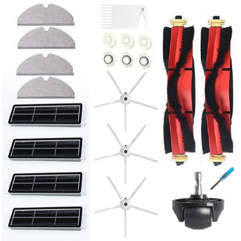 FILTER MOP Tool Kit For Xiaomi Roborock S6//S5 Max S60//S65 Parts SIDE BRUSH