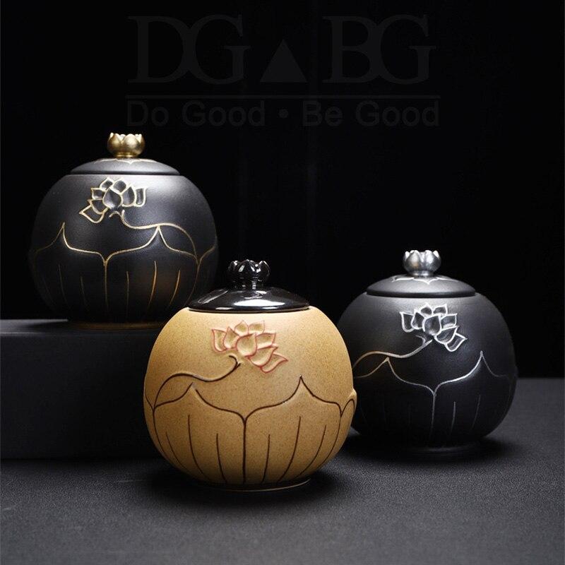 Black  Urns for Ceramics Ashes  Sealed Cremation Funeral  Keepsake Human Pet Memorial Suitable Home Fireplaces Burial Ash Urn