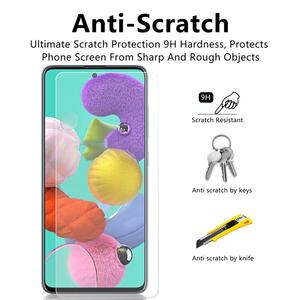 Image 5 - Tempered Glass for Samsung A51 A50 A70 Glass Screen Protector A51 Lens Glass for Samsung Galaxy A50 A51 A10 A01 A30 A40 A20 A71