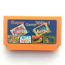 Novo cartucho 360 in1/8 bit 60 pinos cartão de jogo