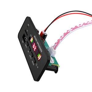 Image 5 - AIYIMA 12 в MP3 Bluetooth декодер плата цветной дисплей WMA WAV FLAC APE декодирование USB TF FM своими руками