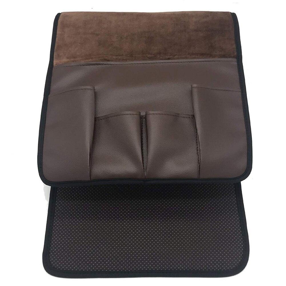 Подвесной домашний компактный нескользящий Органайзер с 5 карманами для дивана, бокового кресла, пульта дистанционного управления