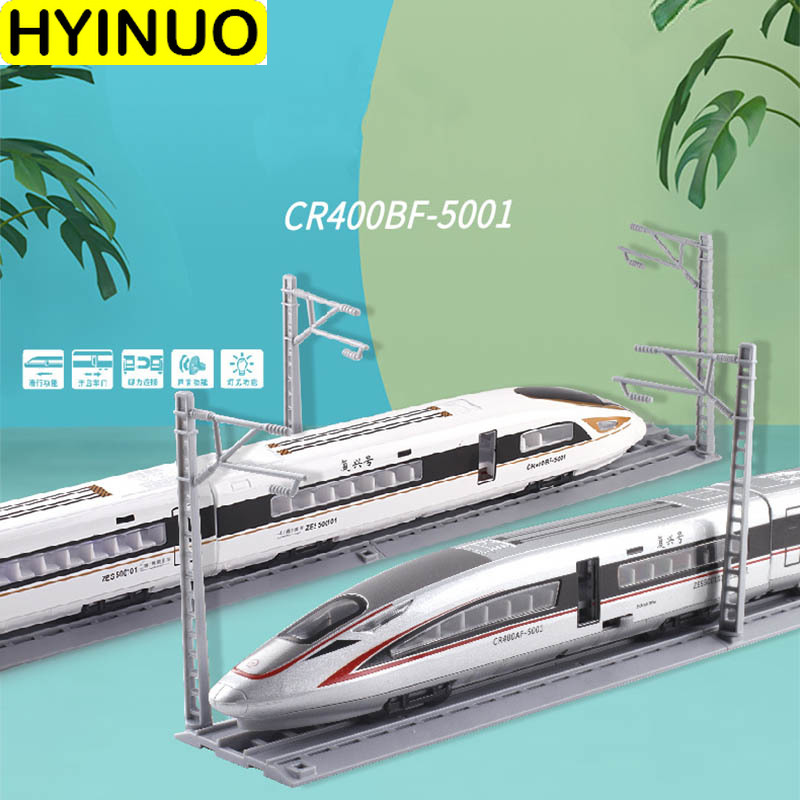 Chinese New Invention 46cm CR400BF-5001 High-spee Ultra-long Alloy Diecast Train Toy Model Children's Gift Souvenir Collection
