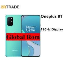 Oneplus 8t 5g snapdragon 865 smartphone 6.55