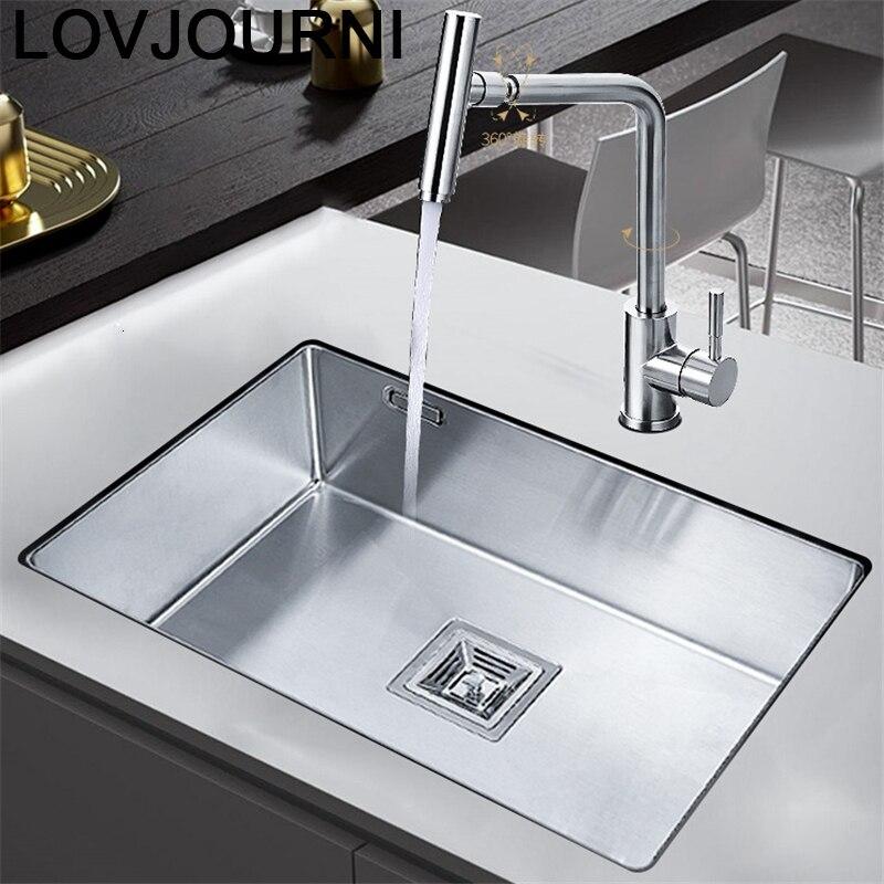 Banheiro Lavandino Cucina Evier Acero Inox Stainless Steel Kitchen Lavabo De Cocina Pia Cozinha Fregadero Vegetable Wash Sink