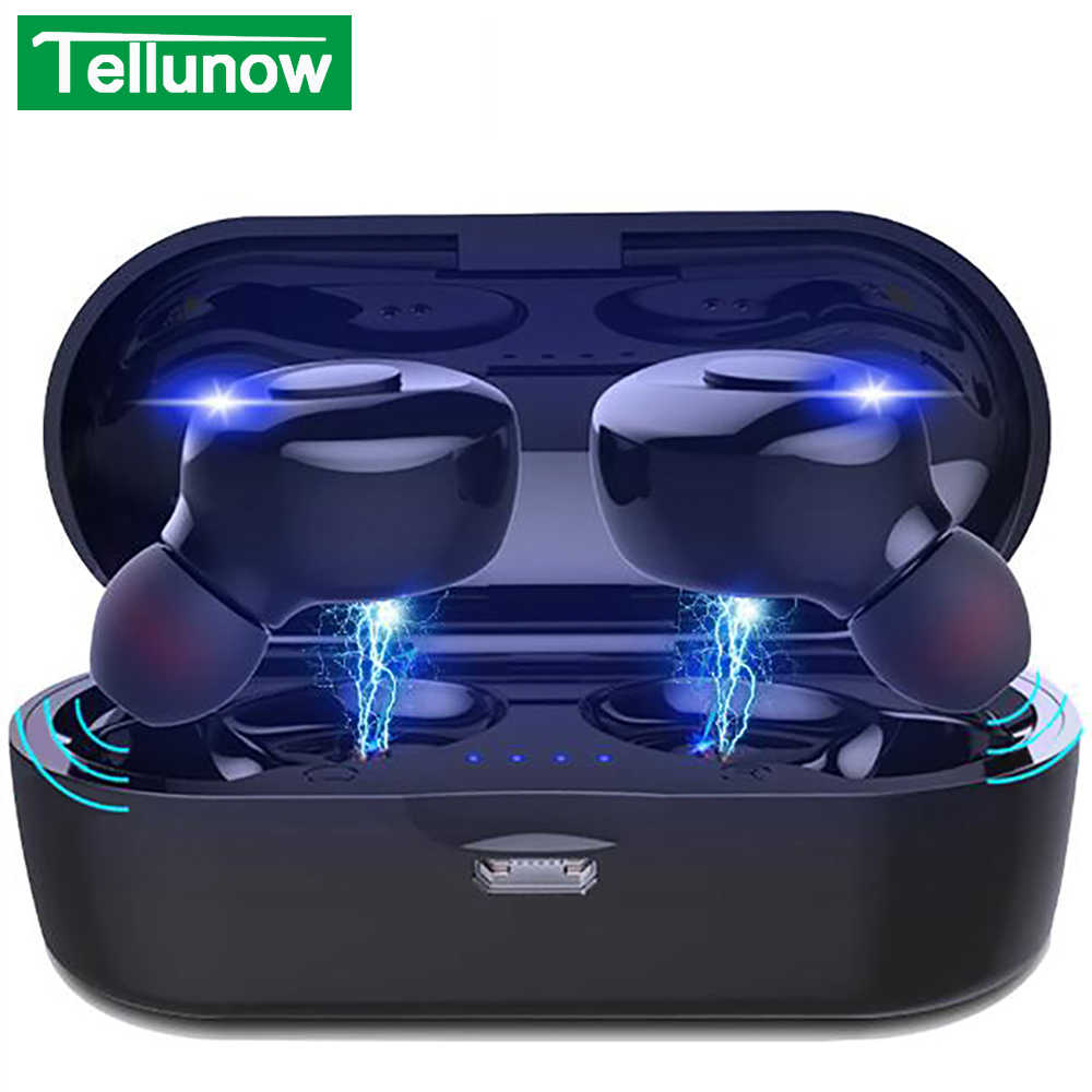XG14 TWS Bluetooth 5,0 auriculares inalámbricos con potencia en la oreja Mini auriculares HiFi 5D auriculares deportivos estéreo IP5 auriculares impermeables sin cabeza