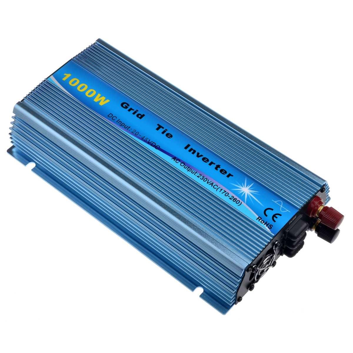 inversor solar dc18v 22v do laco da grade de 1000w 60v ao inversor puro 50hz 60hz