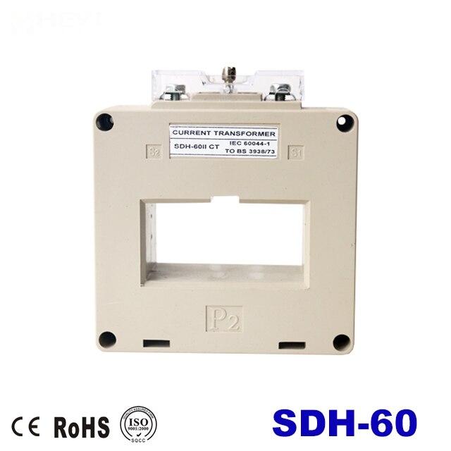 Трансформатор тока SDH 400/5A -2000/5A ct, высокая точность, аналогичный КЛАСС 0,5, трансформатор тока оконного типа s