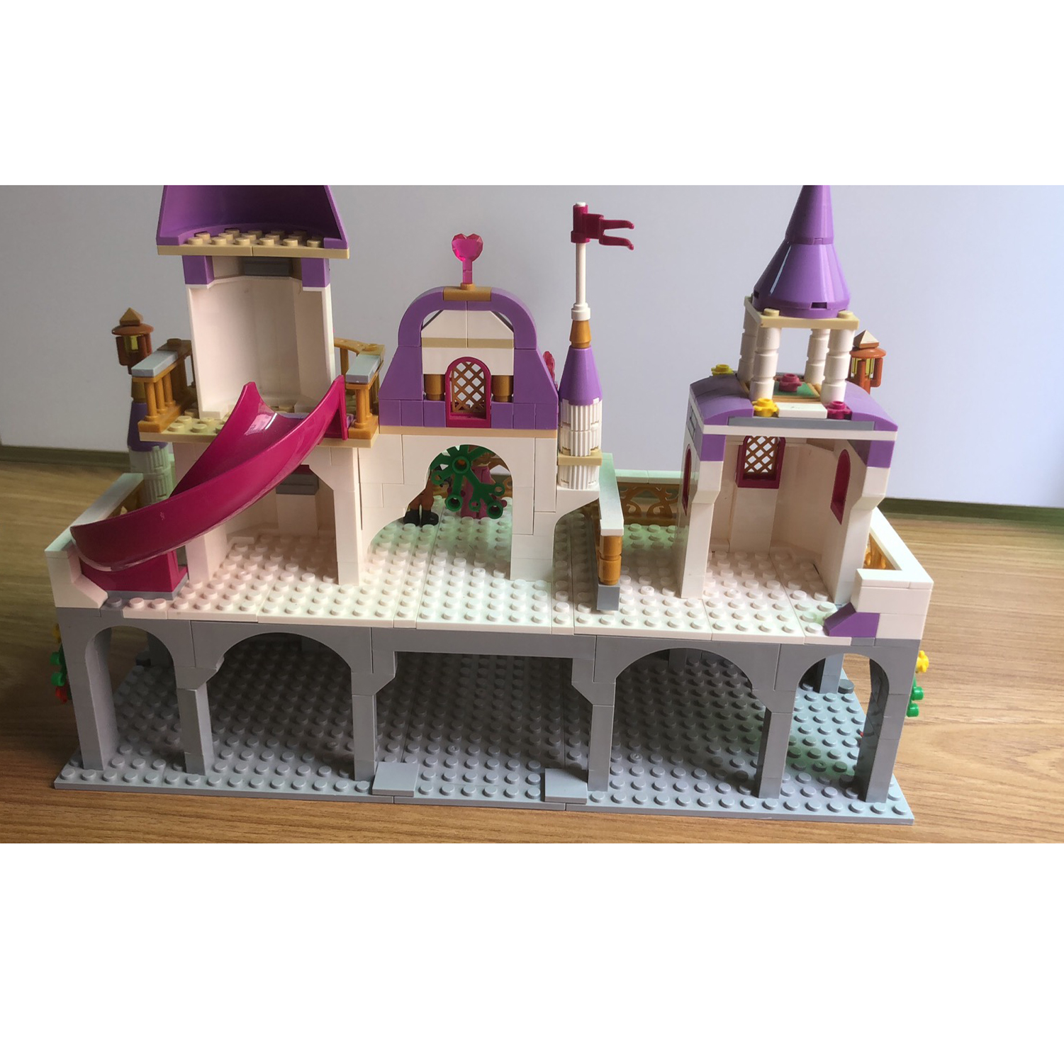Image 3 - 731pcs Romantic Princess Castle Building Blocks Compatible With Legoed Girl Toys Gifts Kids Assembling Brick Friend Model Toys-in Blocks from Toys & Hobbies