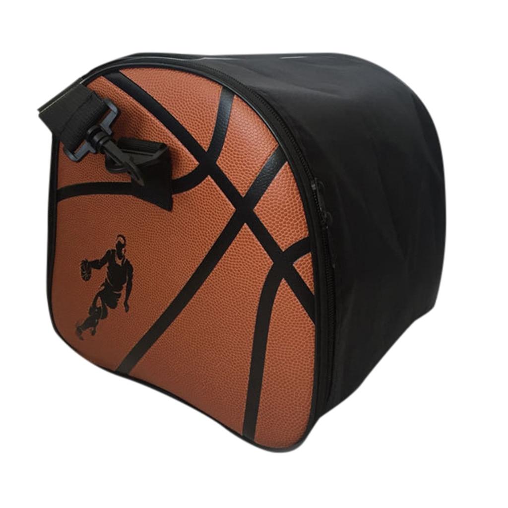 Портативная баскетбольная сумка, Высококачественная сумка для хранения баскетбола из ПУ, спортивная сумка для фитнеса, сумка для хранения ключей, водное стекло и обувь k2-4