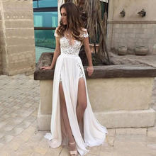 Доступно в продаже белые кружевные свадебные платья с открытой