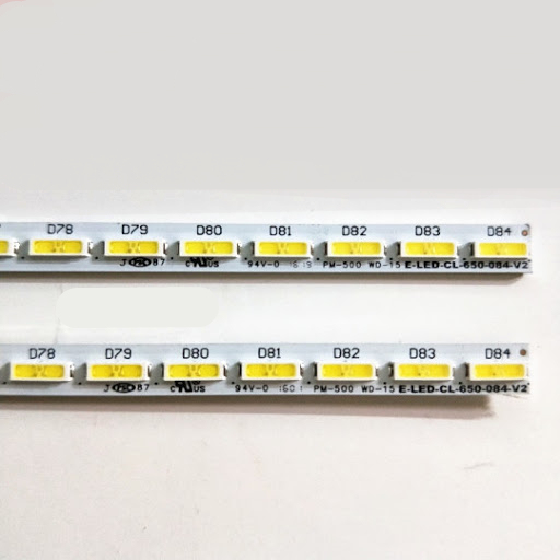 "LED backlight strip 84 lamp for Philip 65""TV 65pus6521/12 65PUS7101/12 E-LED-CL-650-084-V2 10024611-a0"