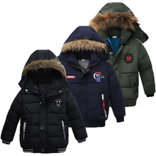 Baby Boys Jacket 2019 Autumn Winter Jacket For Boys Children Jacket Kids Hooded Warm Outerwear Coat For Boy Clothes 2 3 4 5 Year cheap Fashion COTTON Polyester cartoon REGULAR Outerwear Coats Full Fits true to size take your normal size Heavyweight Worsted