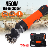 Electric Sheep Pet Hair Clipper Shearing Kit Shear Wool Cut Goat Pet Animal Shearing Supplies Farm Cut Machine EU Plug