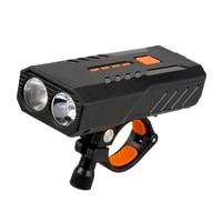 T6 Led 800LM 7W Mtb Fiets Licht Koplamp 3 Modi Regendicht Fiets Verlichting Voorlamp Ultralight Zaklamp Fiets Licht