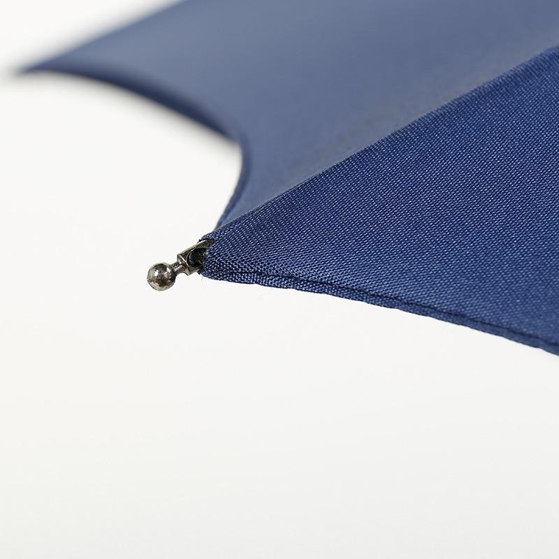 Shang Wu San Men's Three Fold Manual Solid Color Gift Advertisement Umbrella Customizable Logo College Style Folding Advertiseme
