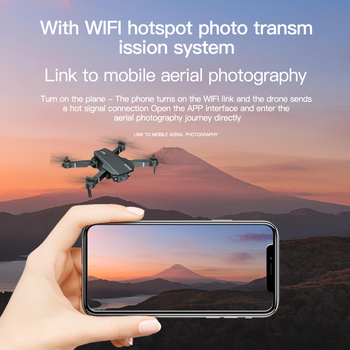 2021 New S107 Mini Drone Profession 4K HD Camera Drone Helicopter WiFi FPV Drone Real-Time Transmission RC Quadcopter toy Drone 3