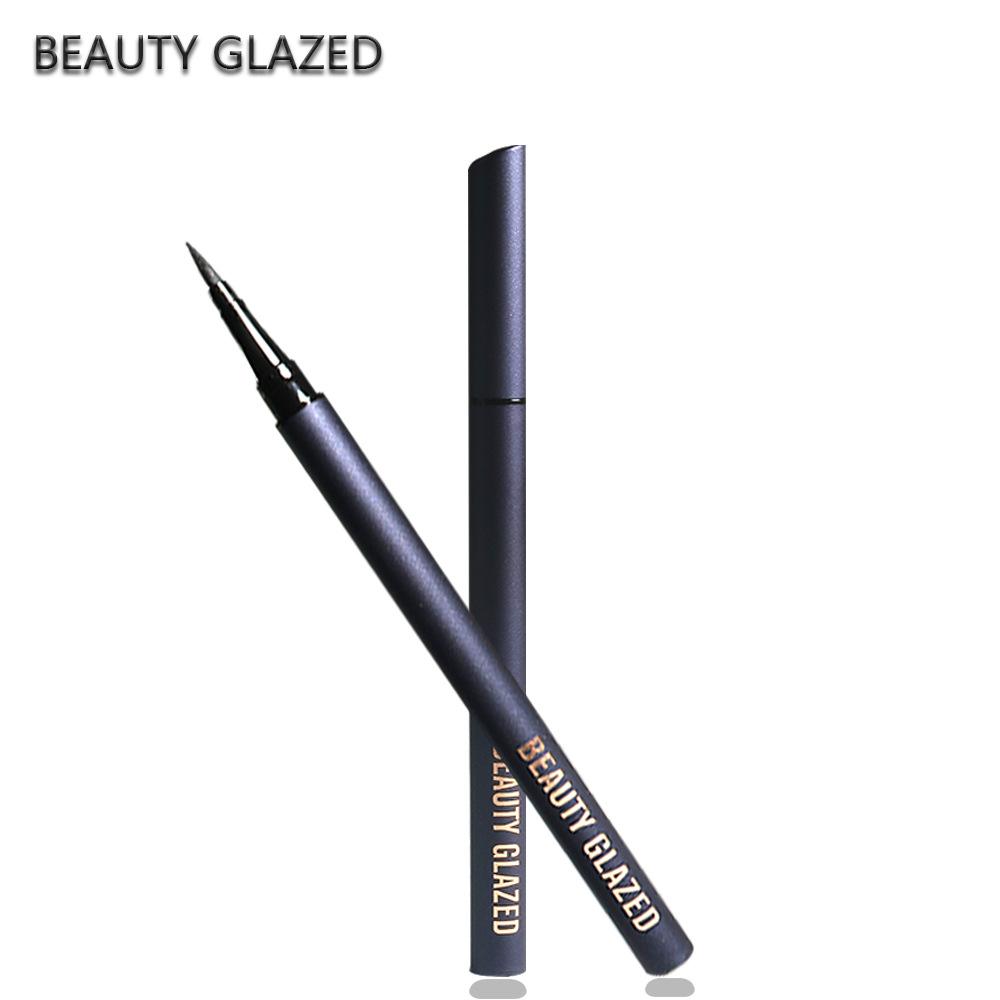 Beauty Glazed Professional Fast Dry Liquid Eyeliner Style Black Long  lasting Eye Liner Waterproof Pen Pencil|Eyeliner| - AliExpress