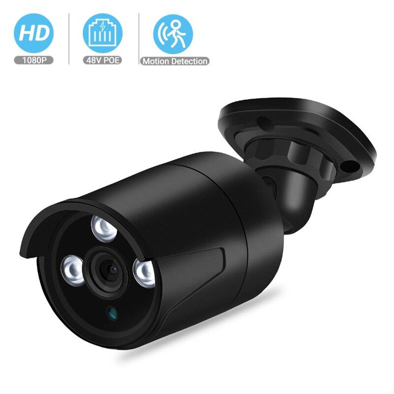 BESDER Outdoor 1080p Full HD IP Camera IP67 Metal Case Waterproof Home Security Camera ONVIF 25m Night Vision P2P XMEye