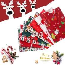 Рождественское платье принтом детский хлопчатобумажная ткань