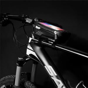Image 3 - TPU na świeżym powietrzu wodoodporna rower motocykl uchwyt na telefon komórkowy stojak na Xiaomi CC9 Redmi note 7 8 ekran dotykowy rowerów, odporny na deszcz,